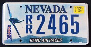 NEVADA-034-RENO-AIR-RACE-MUSTANG-P-51-AIRCRAFT-034-NV-Specialty-License-Plate