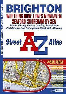Brighton and Worthing Street Atlas von Great Britain   Buch   Zustand gut