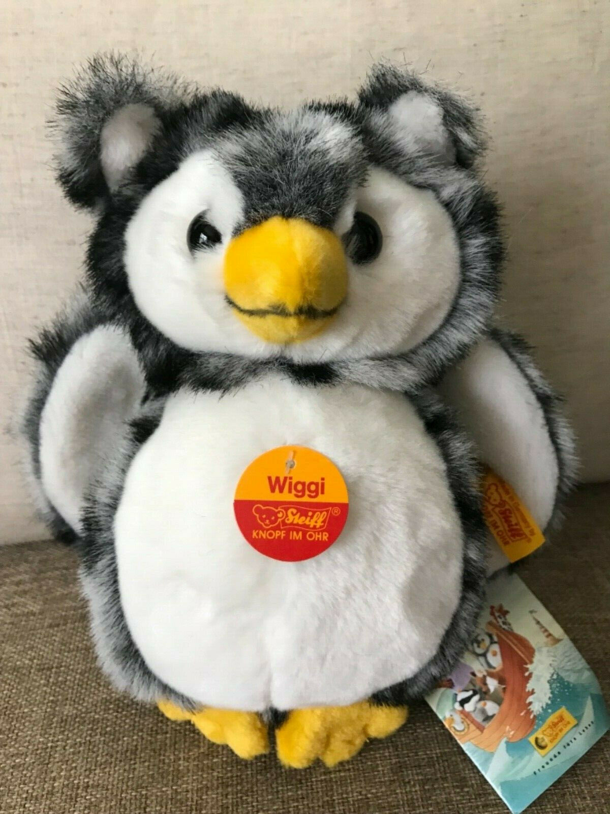 Steiff  072062 Wiggi Owl NWT