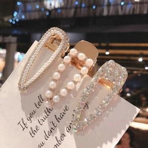 Fashion-Luxury-Crystal-Hairpin-For-Women-Pearl-Barrette-Hair-Clip-Accessories-U