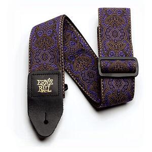 Ernie-Ball-Purple-Paisley-Jacquard-Guitar-Strap