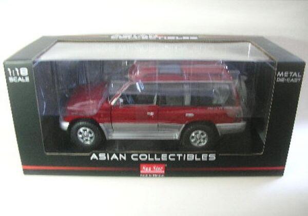 Mitsubishi Pajero long 3.5 V6 (rouge) 1998