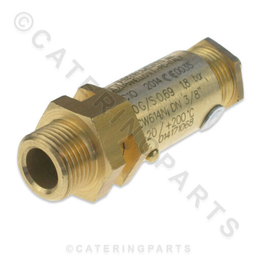 GAGGIA GA6001 BOILER TANK SAFETY VALVE COFFEE MACHINE M19 1.8 BAR WGADM1380//003