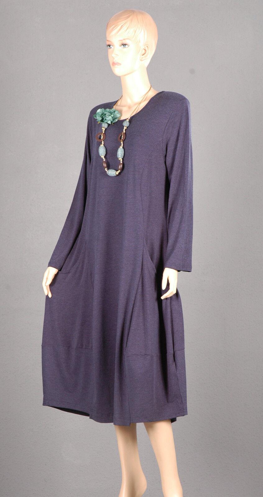 NUOVO elegante elegante elegante qualità Premium donna vestito dress palloncino Lagenlook a-linea 42 XL 2 b65cc8