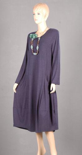 Ballon linie Qualität 50 Damen Lagenlook Dress Kleid Premium A Neu Edel 2 xwzn0
