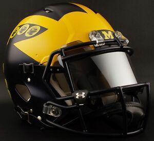 MICHIGAN-WOLVERINES-Football-Helmet-PERFORMANCE-AWARD-Decals-Stickers