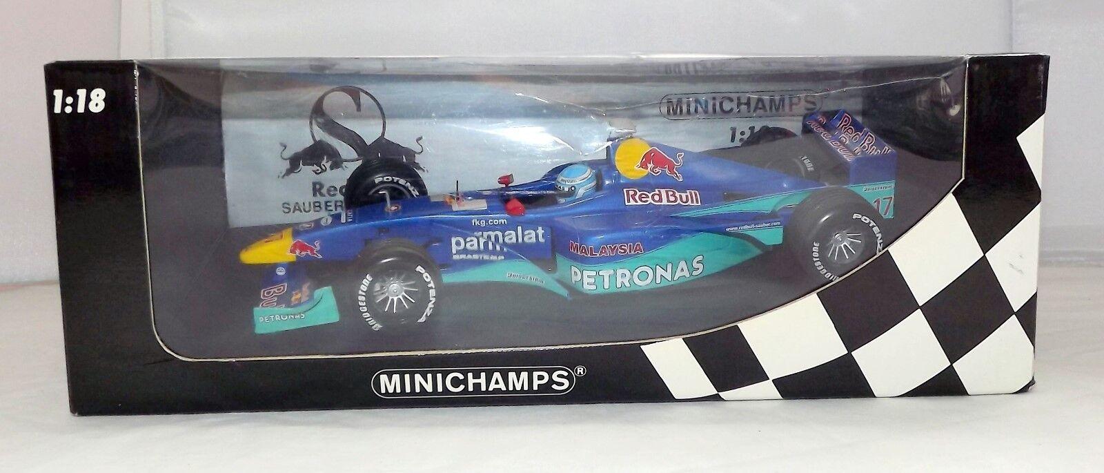 Minichamps 1 18 Saber F1 Team M Salo 2000 ,180000017, boxed - Free post