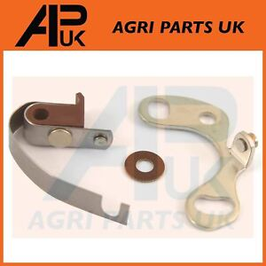 Details about Contact Breaker Points Set Massey Ferguson FE 35 135 TEA20  TED20 TEA TED Tractor