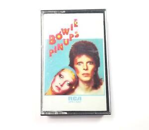 Bowie Pinups David Bowie Cassette Tape, RCA APK1-0291, 1973, Very Good, RARE