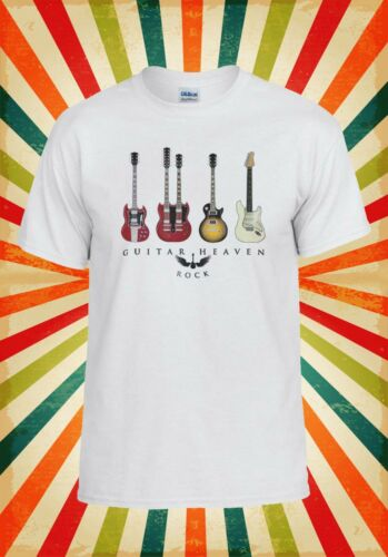Guitar Heaven Rock Funny Cool Fun Men Women Vest Tank Top Unisex T Shirt 1940