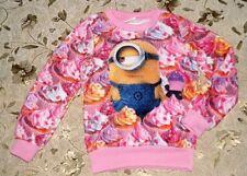 Minion Made Girls Cake Sweater size 122/128