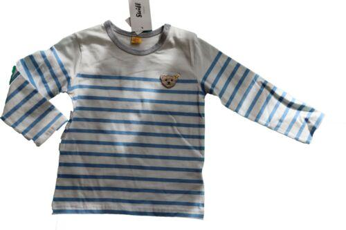 Steiff T-Shirt Langarm College Blue 6832733 Gr 80
