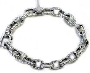 Image Is Loading David Yurman New Mens Medium Maritime Sterling Silver
