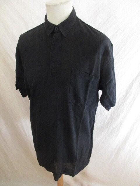 Polo vintage Gianni RENZO schwarz schwarz schwarz Größe XL   Bestellung willkommen    Produktqualität  64330b