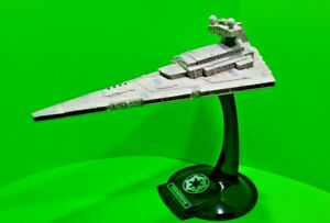 RARE-1997-Star-Wars-Destroyer-Ship-with-Stand-Hasbro-14-5-034-Lucas-film