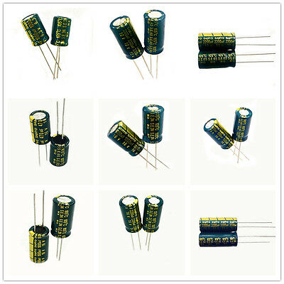 6.3-50V Sanyo High Frequency LOW ESR Radial Electrolytic Capacitor 470-3300uF TS