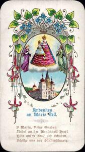 Maria-Celula-Wallfahrt-Cuadro-Santos-Amria-Austria-Koloriert-M-5934