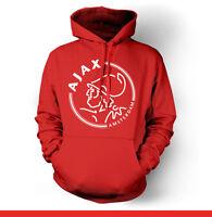 Afc Ajax Amsterdam Netherlands Hooded Sweatshirt Hoodie Hoody Europa Holland