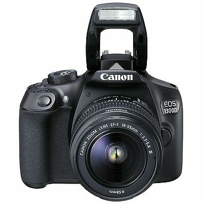 Canon EOS 1300D 18MP DSLR with 18-55mm IS II Lens, 16GB Card