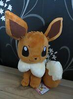 "Pokemon Banpresto I Love Eievui Deluxe DX 14"" Premium Soft Plush toy Eevee NWT"