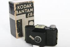 Kodak Bantam F8 Camera With original box