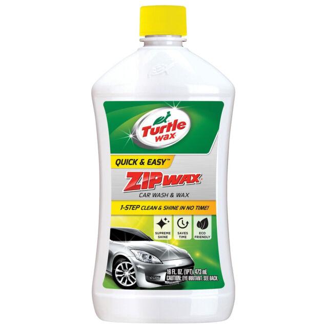 Turtle Wax T75a Zip Wax Car Wash 16 Oz Ebay
