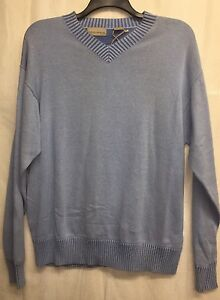 NEW American Blue Sweater Men's Large L GQ Classy Stylish NWT ...