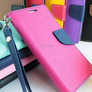 For-iPhone-5C-Hybrid-PU-Leather-Inner-TPU-Flip-Wallet-Pouch-Phone-Case-Kickstand