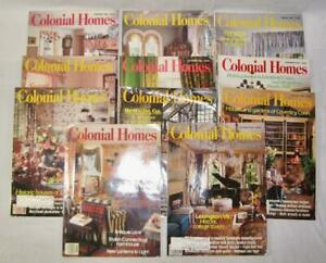 11-Colonial-Homes-Vintage-Magazines-1990-To-1994-Home-Decor-Hearst-O2-Lot-5