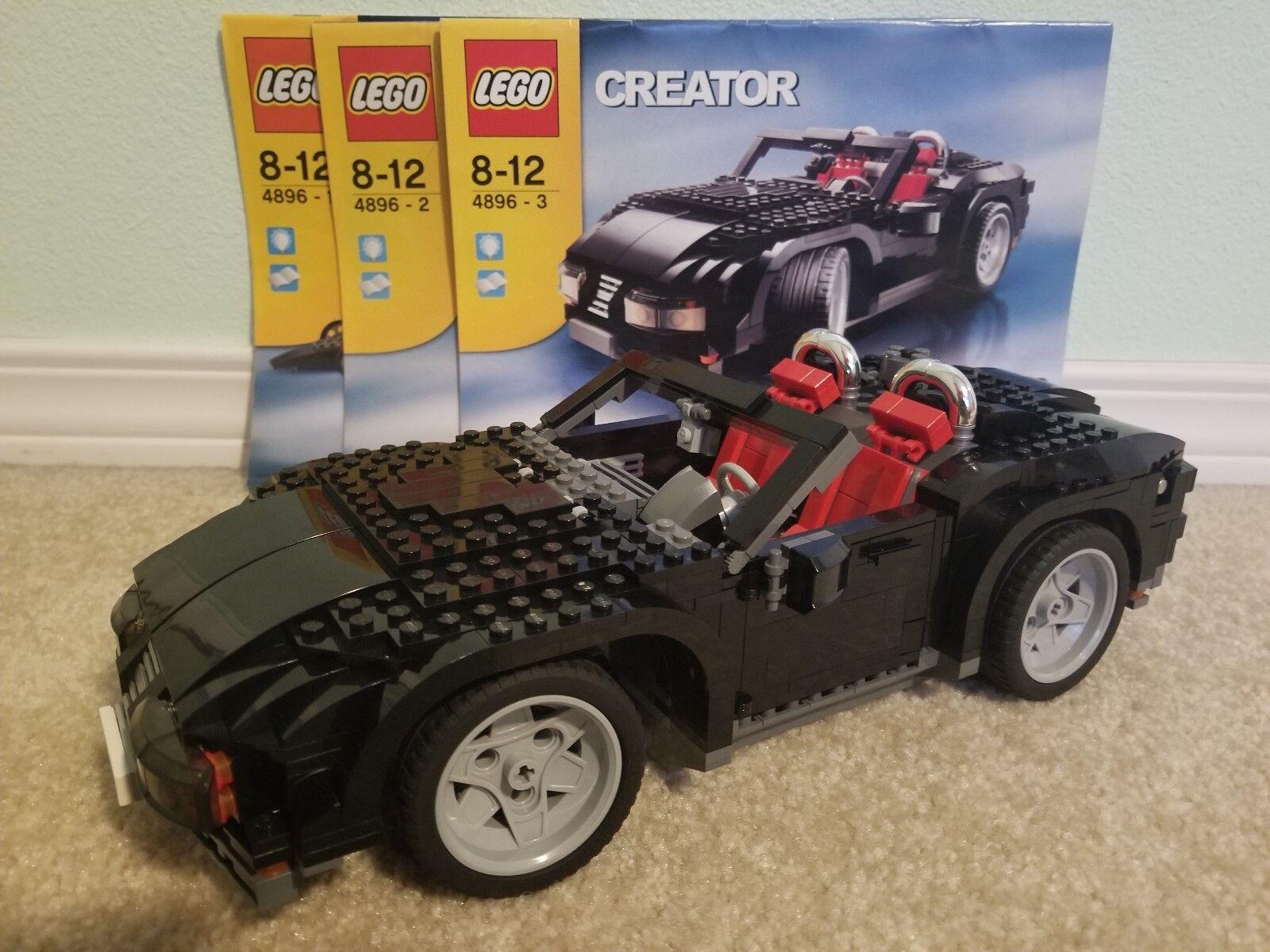 Lego Creator Roaring Roadsters (4896) 100% complete. No box.