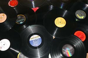 "Lot of 25 LP 12"" 33 RPM Vinyl Records for Crafts Decor Party"