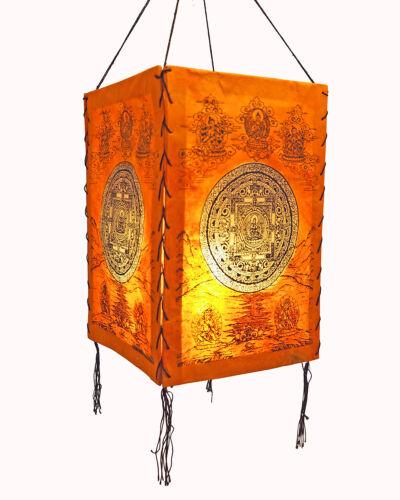 Lokta Papier Abat-jour Tara Mandala Papier lampe papier lampe LAMPION Mains
