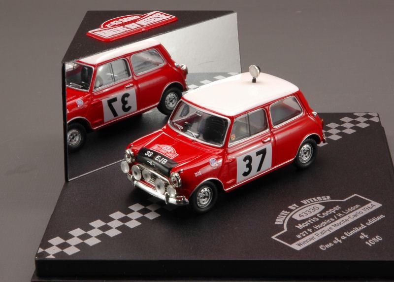 Morris Morris Morris Cooper  37 winner Rally de Monte Carlo 1964 1 43 Model 43330 vitesse 1bb9a0