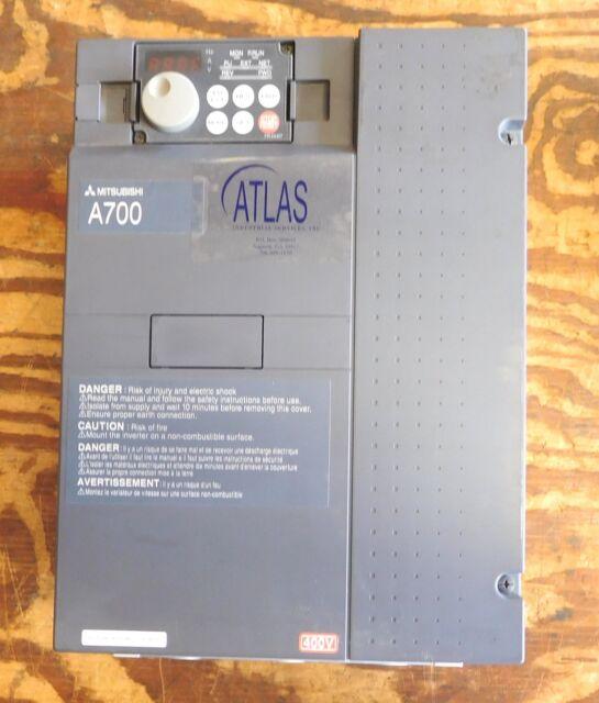 Mitsubishi Electric 400v Class A700 FREQROL Inverter AC Drive Fr A740 00230 Na