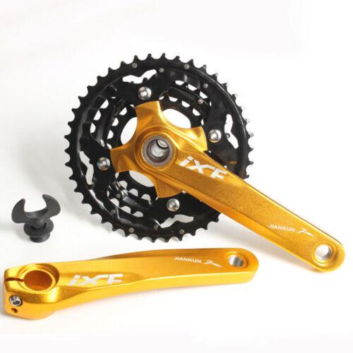 Vtt Creux Manivelle W//Pédalier /& Casquette Housse Cyclisme 10 Vitesse