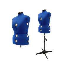 Adult Female Plus Size Adjustable Dress Form Sewing Fabric Mannequin Torso