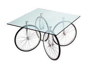 Tavolino Gae Aulenti Prezzo.Dettagli Su Fontana Arte Tavolo Con Ruote Di Bicicletta Tour Design By Gae Aulenti