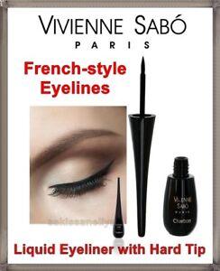 vivienne sabo  VIVIENNE SABO CHARBON Liquid Eyeliner with Hard Tip Black 6 ml ...
