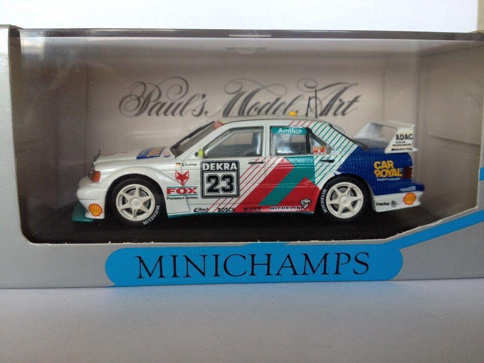 MINISTAMPS 1 43 Mercedes 190 E EVO 2 DTM 1993 Amthor 933111