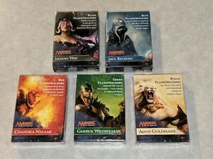 NEW-SEALED-MAGIC-THE-GATHERING-Planeswalkers-Deck-Lot-ALL-5-DECKS-MTG-2014