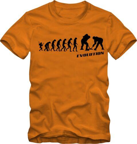 T-shirt de Hockey sur glace Evolution Différentes Couleurs DTG pression