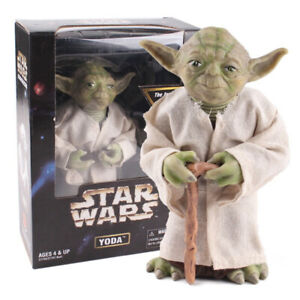 Star-Wars-Jedi-Knight-Master-Yoda-PVC-Action-Figure-Collectible-Model-Toy