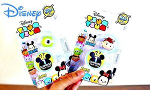 2-x-TSUM-TSUM-SQUISHY-2-PACK-SERIES-1-WITH-SURPRISE-BNIP-SERIES-1