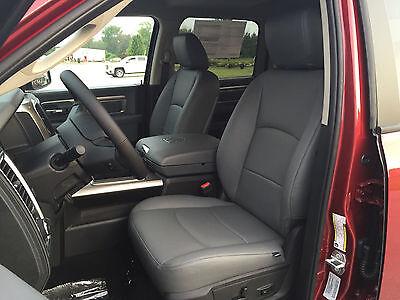 Pleasing 2014 2015 2016 2017 Dodge Ram Crew Cab Gray Grey Katzkin Leather Seat Covers Ebay Lamtechconsult Wood Chair Design Ideas Lamtechconsultcom
