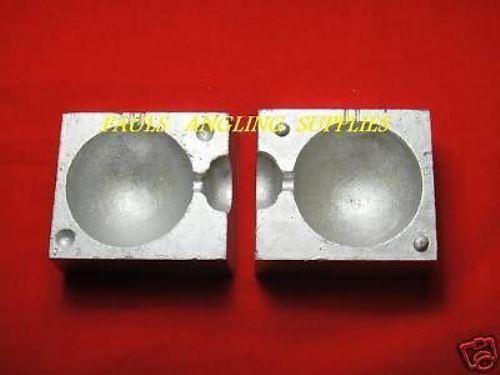 Sea Fishing Ball Bateau Plomb poids Moule TFT 24 oz environ 680.38 g