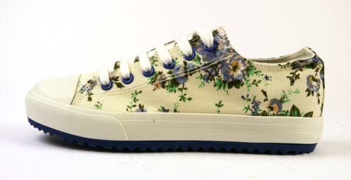 Farben 36-40 NEU OVP florale Muster versch Bulldozer Canvas-Sneaker  Gr