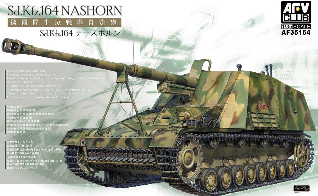 AFV Club AF35164 1 35 German Sd.Kfz.164 Nashorn