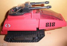 GIJOE gi joe COBRA RED H.I.S.S. hiss TANK vehicle for figure TOY exclusive targe