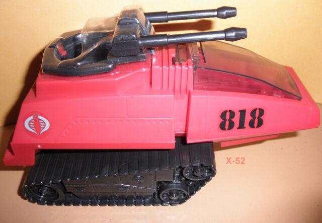 GIJOE gi joe COBRA RED H.I.S.S. hiss TANK vehicle for figure TOY exclusiv target