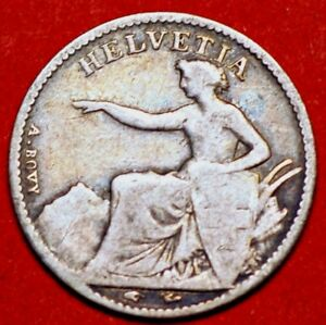 1851A-Switzerland-1-2-Franc-KM-8